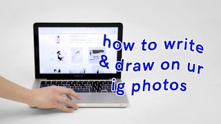 HANDWRITING ON INSTAGRAM PHOTOS TUTORIAL / Ordinary People