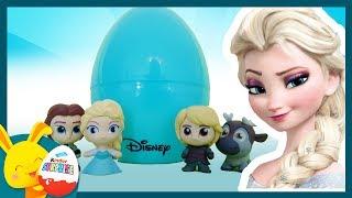 Histoire Reine des neiges - Oeufs surprises - Elsa Anna Olaf - Titounis Touni Toys
