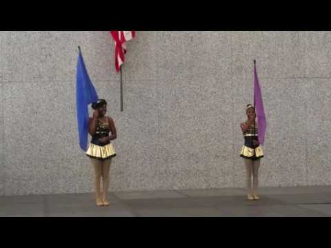 S.T.A.T. Of Illinois- Flag duet at the Daley Center