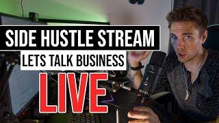 🔴Lets talk business   Jr. Dev Q&A - Live   Daily Standup   @joshuafluke everywhere