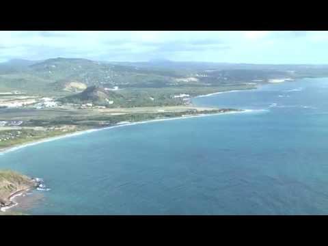 Vieux Fort Atlantic Coastline
