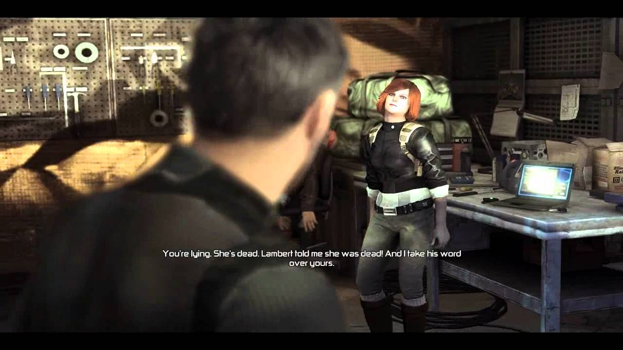 Let 39 s play splinter cell conviction p3 grim why you no listen youtube - Splinter cell grim ...