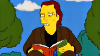 The Simpsons - Christopher Walken reads Goodnight Moon