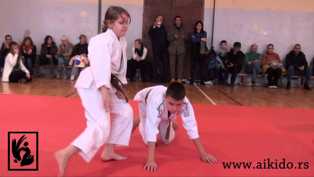 Aikido polaganje-Skola borenja Trem-Nis-28. Decembar 2014.