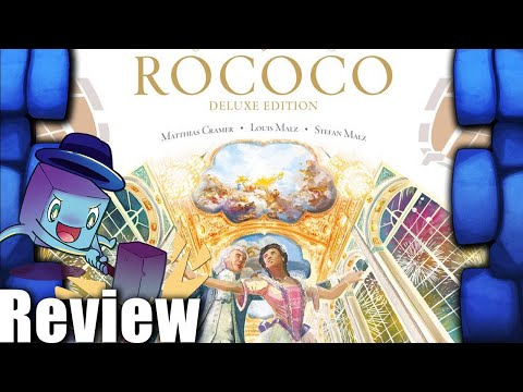 Rococo: Deluxe Edition Review with Tom Vasel