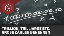 Trillion, Trilliarde, What the fuq?  - Einfach große Zahlen benennen! ● Gehe auf SIMPLECLUB.DE/GO