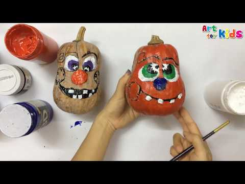 how-to-draw-faces-on-pumpkins-on-halloween-|-painting-for-kids-|-art-for-kids