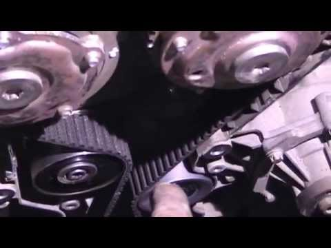 замена ГРМ опель астра 1.8 Replacing The Timing Belt Opel Astra 1.8 Motor Z18xer 140 HP