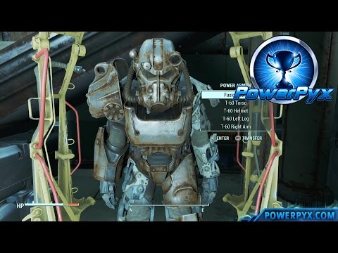 Fallout 4 - 12 Easy Power Armor Locations Early in the Game (With Fusion Cores)
