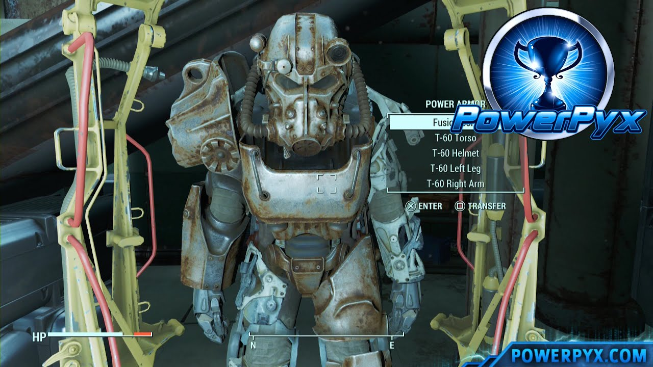 Fallout 4 12 Easy Power Armor Locations Early In The Game With Fusion Cores YouTube
