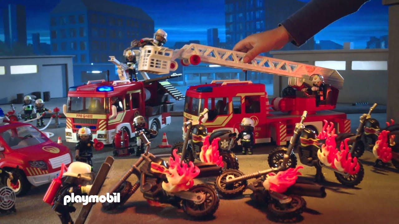 Playmobil brandweer youtube - Playmobil de pompier ...