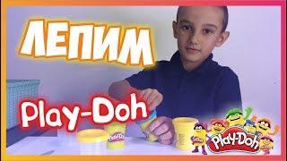 Лепим Play-Doh / Новый канал / сломали ножик
