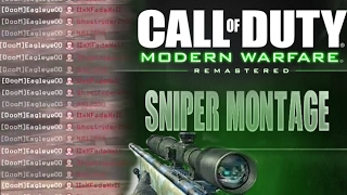 Modern Warfare Remastered Sniper Quick scope Montage (mwr)