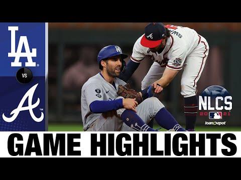 Dodgers vs. Braves NLCS Game 1 Highlights (10/16/21) | MLB Highlights