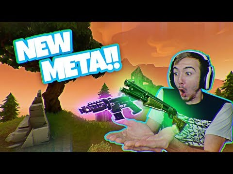 NEW Fortnite Battle Royale META CONFIRMED! (Pump SMG 22 Kill Gameplay)