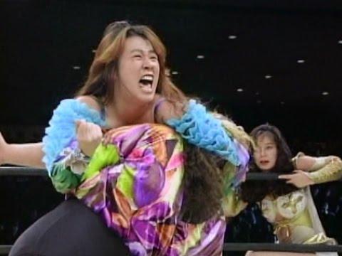 Nakano, Shimoda & Mita (Team AJW) vs Suzuki, Mariko & Fukuoka (JWP)