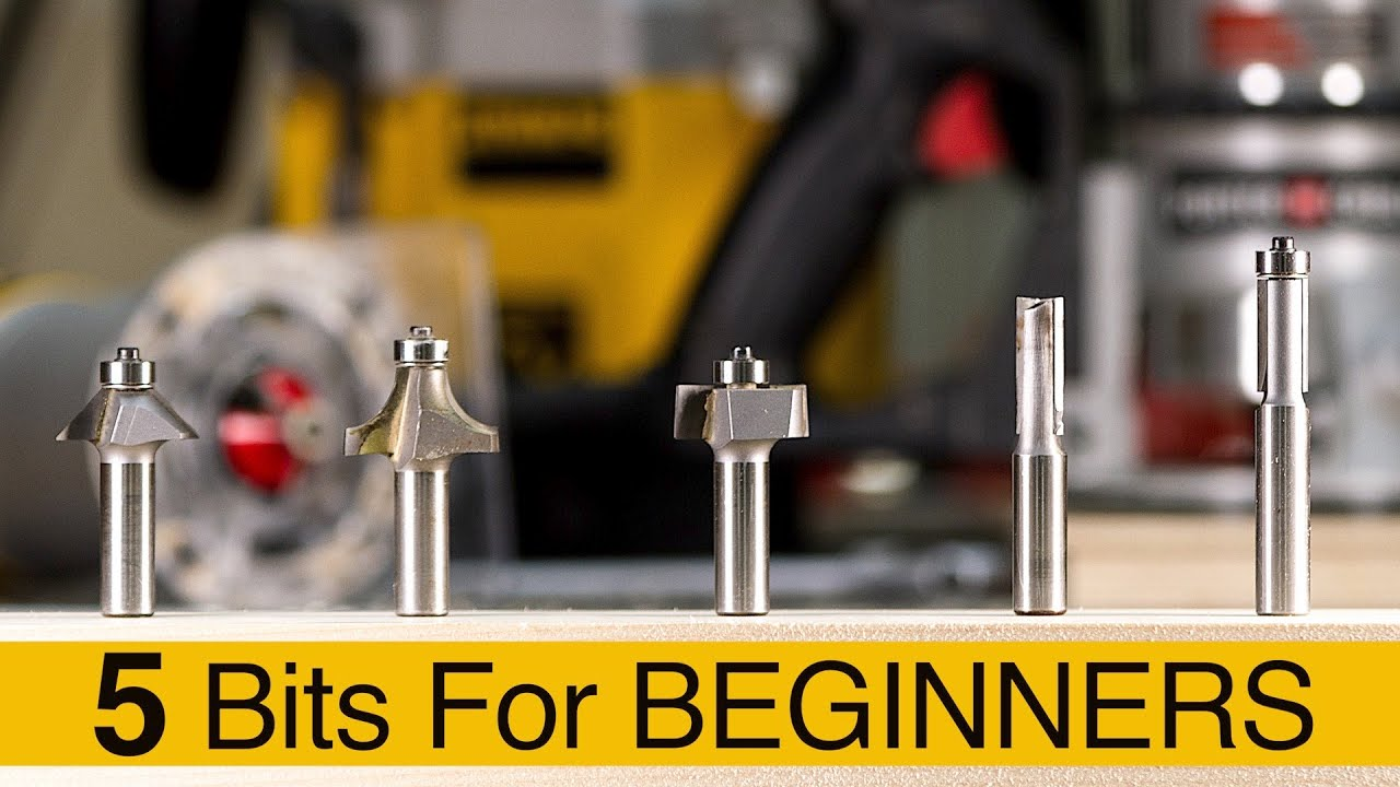 Download The Best Router Bits For Beginners