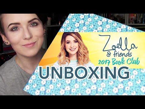 Zoella & Friends 2017 Book Club UNBOXING