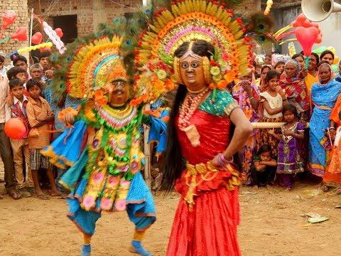 Kirat Kiratini   Puruliya Chhou Dance   Ashwini Kumar   Part I   Full HD