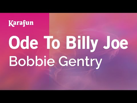 Karaoke Ode To Billy Joe - Bobbie Gentry *