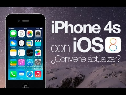 ios 8 on iphone 4s ios 8 en iphone 4s en espa 241 ol 8781