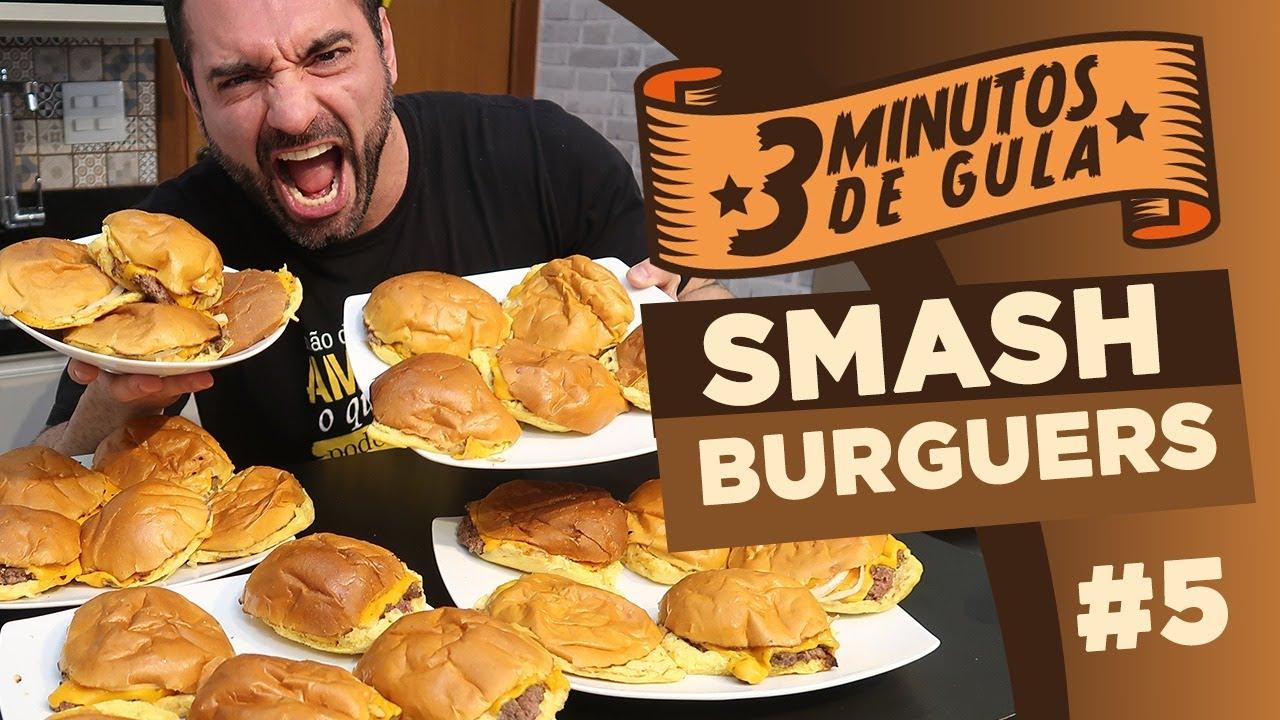 3 MINUTOS DE GULA ep #5: SMASH BURGUERS!!
