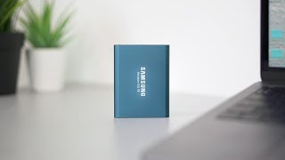 Samsung T5 portable SSD | A must have External SSD for (Mac) editors!