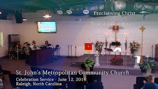 Celebration Service - June 12, 2016