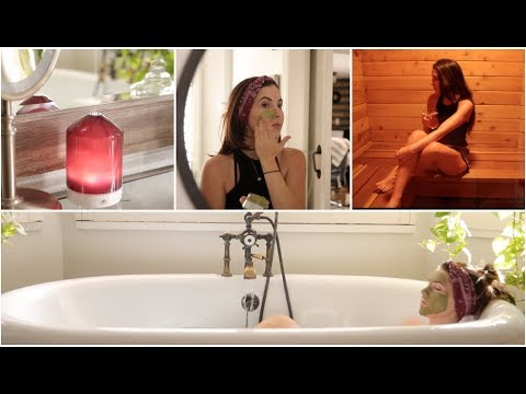 At Home Spa/Pamper Day Routine