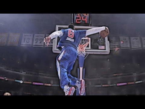 DeAndre Jordan: Top 10 Practice Dunks [Dunk Contest Audition]