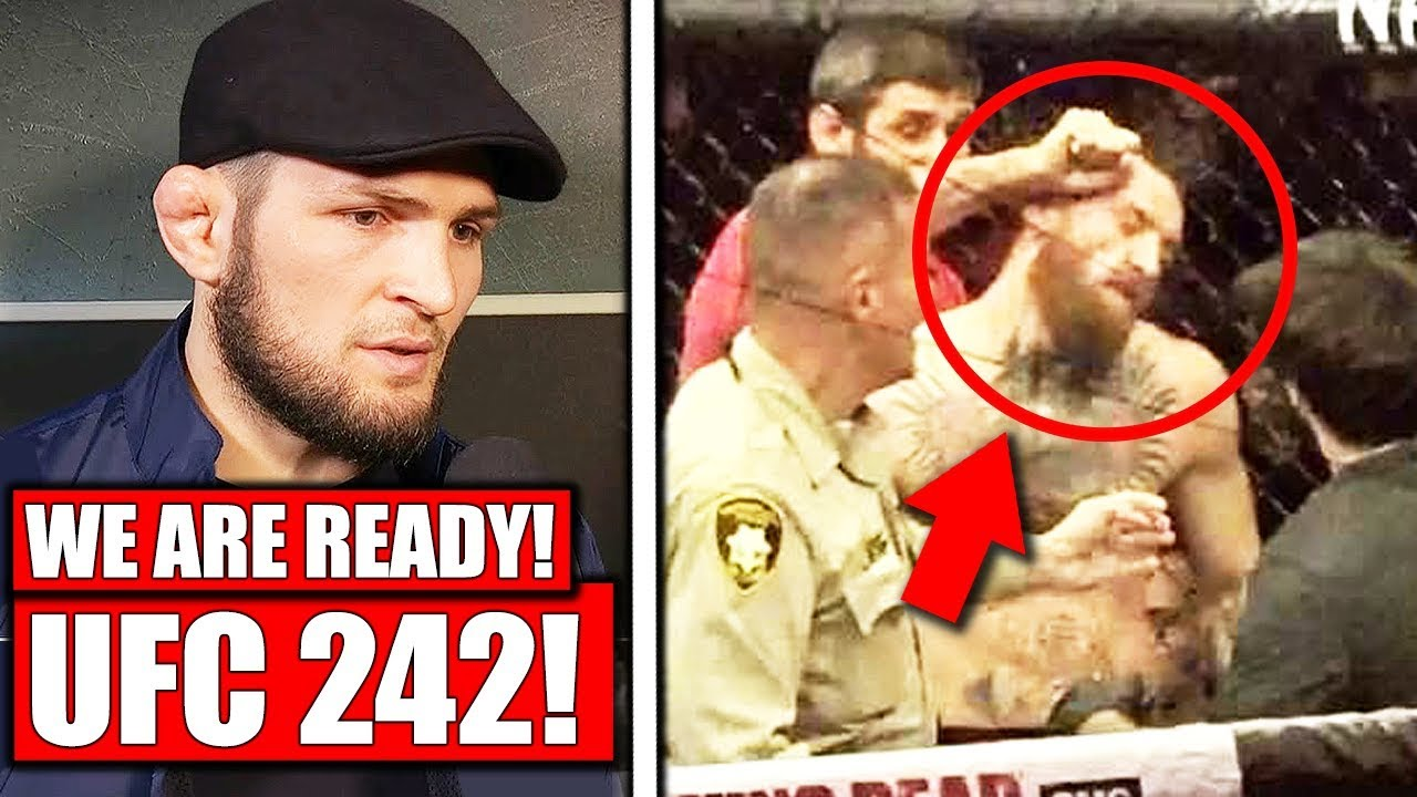 Khabib's team get suspensions REDUCED and Khabib confirms UFC 242 return,  Bisping rips Malignaggi