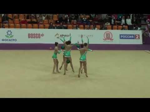 Junior team Bulgaria, 5 balls, Grand Prix, 2015, Final, Moscow.