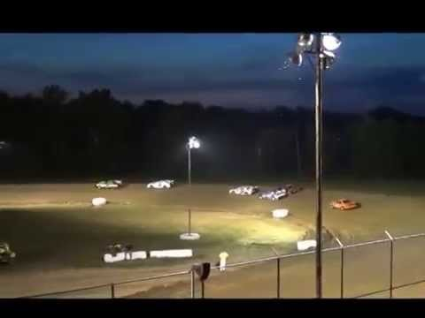 6 27 2014 Muskingum County Speedway Street Sock Heat race