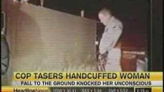 Ohio Woman Taser Several Times By Cop thumbnail