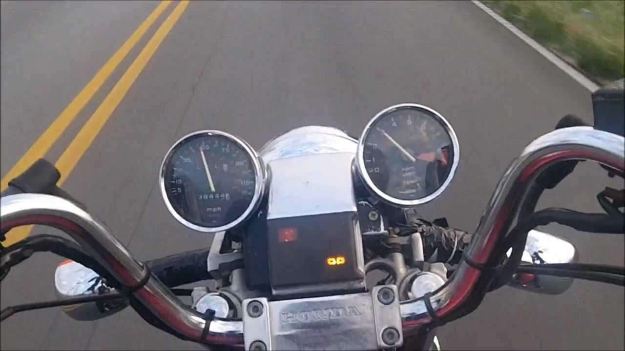 85 Honda Shadow Ride - YouTube