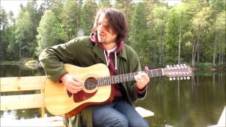 "Grasberry Green ""Song of hope"" (Live in the forest/wood) Fender CD-140S-12 Acoustic"