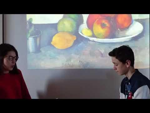 Interview de Cézanne Manon et Augustin 2 E