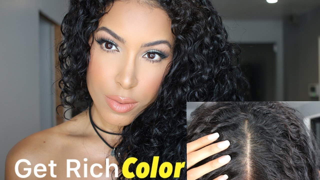 How To Enhance Your Natural Hair Color Wout Dye Youtube