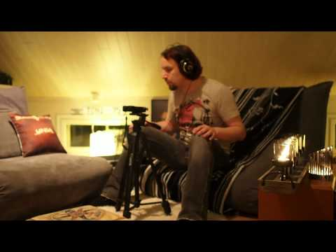 Tony Kakko Recording a New Tune With OLYMPUS LS-100 (OFFICIAL)