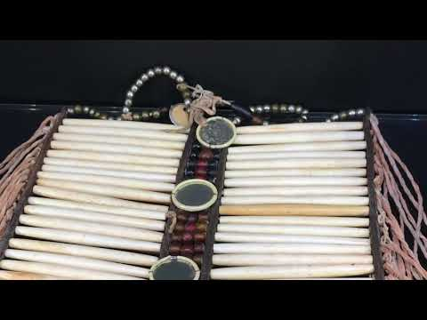 Native American Bone Breastplate (1800's)