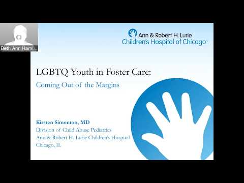 Dr. Kirsten Simonton - LGBTQ Youth in Foster Care: Coming Out of the Margins