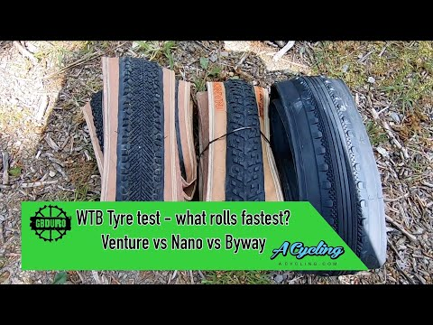WTB Gravel Tyre Test - Which Rolls Fastest?