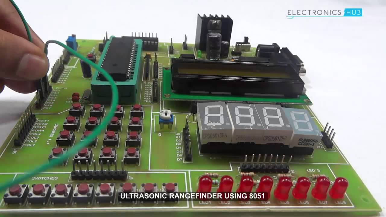Ultrasonic Rangefinder Using 8051 Microcontroller Youtube Of That You Need To Have In Order Perform An