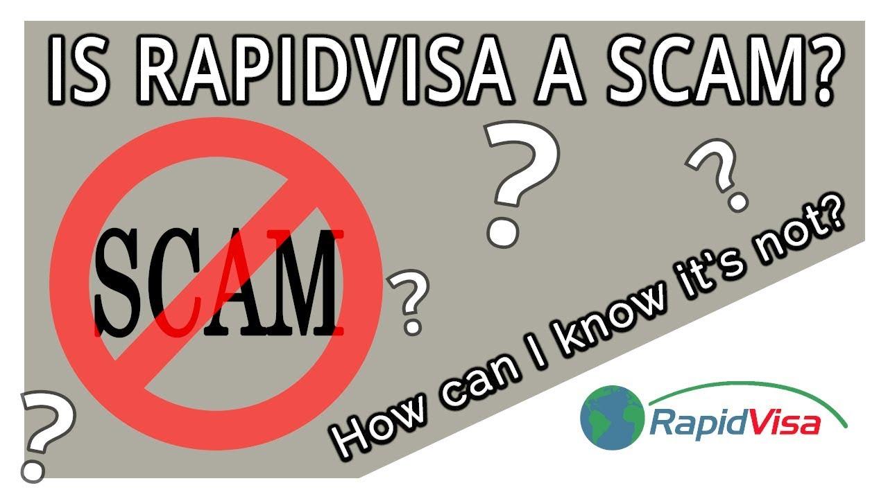 Is RapidVisa a Scam?