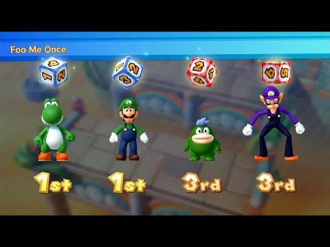 Mario Party 10 - Chaos Castle (2 Player - Master CPU) Rosalina, Toadette, Mario, Luigi #179