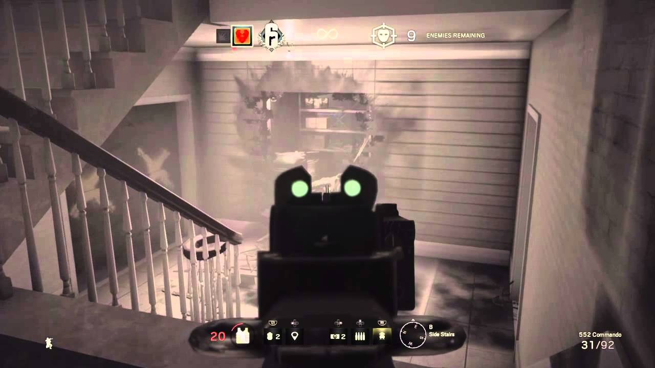 Rainbow six siege beta terrorist hunt i hate suicide - Rainbow six siege disable bomber ...
