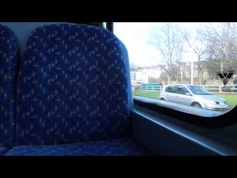 6000th Video Route 19 National Express Dundee Volvo B7TL Wright Eclipse Gemini 7014 (SP54 CGX)