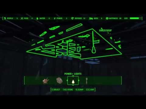 Fallout 4: How To Turn On Light Bulbs - YouTube