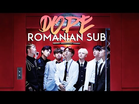 BTS (방탄소년단) – DOPE (쩔어) • [ Romanian Sub | Han | Rom ]