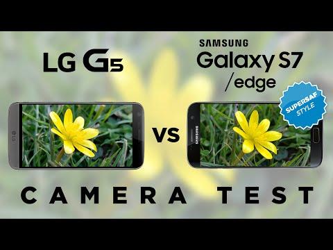 LG G5 vs Samsung Galaxy S7 Camera Test Comparison